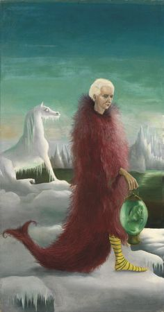 Bird Superior, Portrait of Max Ernst is a Surrealist Oil on Canvas Painting created by Leonora Carrington in It lives in a private collection. Art Gallery, Gallery Of Modern Art, Peggy Guggenheim, Magritte, Galerie D'art Moderne, Voyage Florence, Art Fund, Surrealism Painting, Mexican Artists