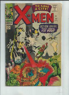 UNCANNY X-MEN #23 Great Silver Age find from Marvel Comics!! http://r.ebay.com/EEtkDa