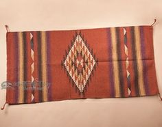 Hand Woven Old Style Southwestern Rug 32x64 (326420)
