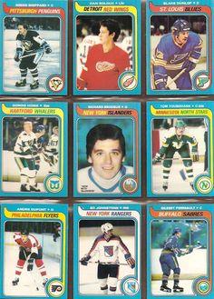 172-180 Gregg Sheppard, Dan Bolduc, Blake Dunlop, Gordie Howe, Richard Brodeur, Tom Younghans, Andre Dupont, Ed Johnstone, Gilbert Perreault