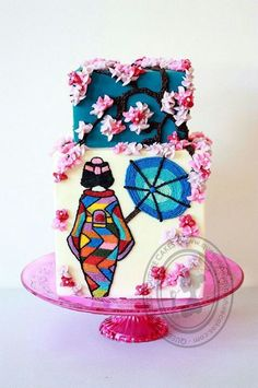 Queen of Hearts Couture Cake