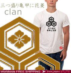 MITSU MORI KIKKOU ni hanabishi - Asian T shirt - Japanese Asia Tee shirt - Japan kawaii shirt