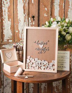 4lovepolkadots P 2 448 8890 Wedding 20guest 20books Alternative 07 Fhearts F Html