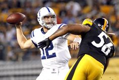 Andrew Luck's first test was against the St. Louis Rams in Week 1 preseason action, but his first real test was Sunday night against the Pittsburgh Steelers' daunting defense.