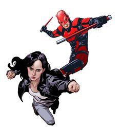 Jessica Jones et Daredevil