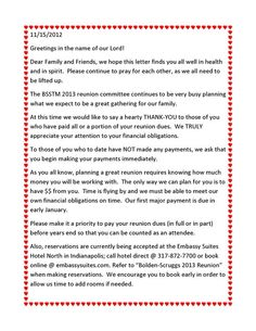 Information Letter Family Reunion | click on the button below.: