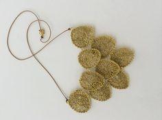Dollops necklace in gold - moonbasket