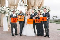 """Thank you for sharing your favorite #pelicanhill #memory with us, Thomas! #goducks """"Just got married on 5/2/15 while the Ducks were playing in the Stanley Cup Playoffs. My wife, myself, and our siblings had to show our Ducks pride! Go Ducks!!"""""""
