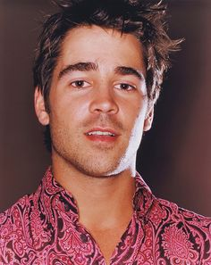 Colin Farrell, even in that shirt