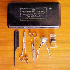 Men's Barber Kit In Box, now featured on Fab.