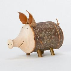 Twiggy Piggy Bank #shopterrain