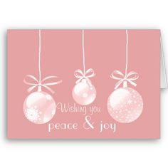 Wishing Peace & Joy : Christmas Card