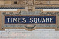 Find Times Square New York City Subway stock images in HD and millions of other royalty-free stock photos, illustrations and vectors in the Shutterstock collection. New York Subway, Nyc Subway, Subway Art, Subway Tiles, Times Square New York, S Bahn, City Maps, Street Signs, Street Art
