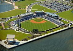 Pensacola, FL. Home of the Blue Wahoos.