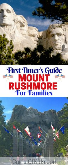 Make it a point to visit Mount Rushmore Memorial in the Black Hills of South Dakota. It's an icon and the most visited memorial outside of Washington, DC. Got all the details for visiting in this guide. What to do in Mount Rushmore with kids South Dakota Vacation, South Dakota Travel, Rapid City South Dakota, Family Road Trips, Family Travel, Family Vacations, Places To Travel, Travel Destinations, Vacation Places
