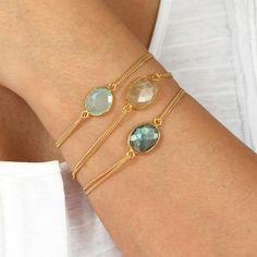 lana gold rutilated quartz bracelet