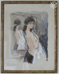 Aquarelle bernard charoy Collection Puy-de-Dôme - leboncoin.fr
