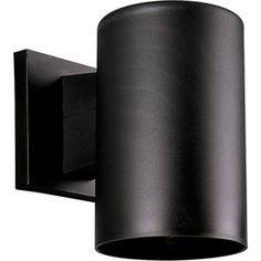 Progress Lighting 7.25-In H Black Dark Sky Outdoor Wall Light P5712-31