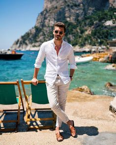Men's Summer Casual Style Guide The Lost Gentleman is part of Mens fashion casual - Fashion Bubbles, Look Man, Summer Outfits Men, Men's Summer Clothes, Herren Outfit, Men Beach, Mode Masculine, Gentleman Style, Men Looks