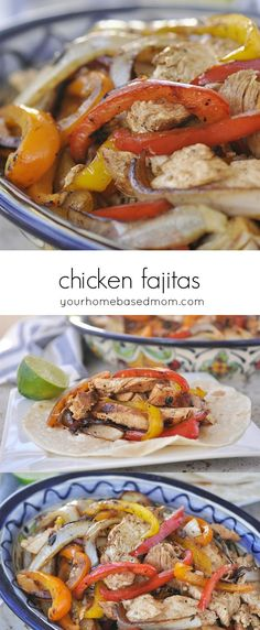 Chicken Fajitas Reci