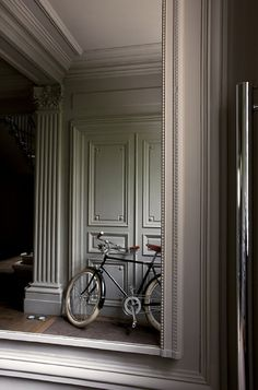 greige: interior design ideas and inspiration for the transitional home by christina fluegge: Grey in the entryway...