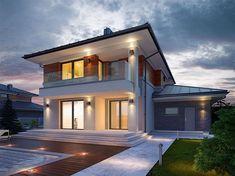 Projekt domu Kadyks 2 162,2 m2 - koszt budowy - EXTRADOM
