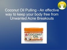 Acne has been the most common problem faced by people since many years. Coconut oil is a vital natural oil for acne removal. There are many benefits of Coconut Oil.