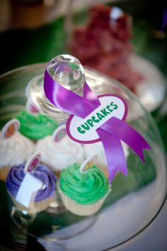 Barney Party, Barney Birthday, Ju Ju, Food Labels, 2nd Birthday Parties, Decoration, Cupcakes, Party Ideas, Shop