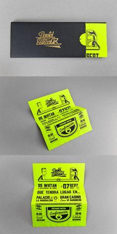 Una muestra de 50 bellamente diseñado invitaciones de impresión Para inspirarle - Escuela de Diseño