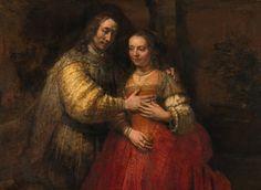 Rembrandt | The Jewish Bride /La sposa ebrea, 1667 | Tutt'Art@ | Pittura * Scultura * Poesia * Musica |