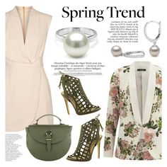 """""""Wardrobe Basics: Spring Jacket"""" by pearlparadise ❤ liked on Polyvore featuring VILA, Finders Keepers, Beston, Meli Melo, Anja, contestentry, wardrobebasics, pearljewelry, pearlparadise and springjacket"""
