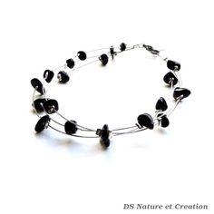 Bijou fait main bracelet tourmaline noire par DSNatureetCreation https://www.etsy.com/fr/listing/253275713/bijou-fait-main-bracelet-tourmaline