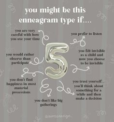 Type 5 Enneagram, Personality Tests, Alphabet Soup, Istp, Thing 1, W 6, Introvert, Aries, Psychology