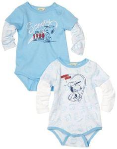 Amazon.com: Franco Apparel Baby-Girls Infant Snoopy Peanuts 2 Piece Bodysuit Set: Clothing