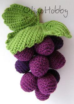 Crochet grapes   by OlinoHobby