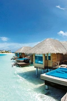 Contemporary and stylish, with the world's first underwater spa, Huvafen Fushi simply oozes cool and is perfect for couples looking for a romantic escape. #Maldives