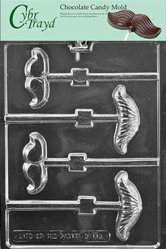 Cybrtrayd D112 Chocolate Candy Mold Mustache Assortment Lolly Dads and Moms -- Read more reviews of the product by visiting the link on the image.(This is an Amazon affiliate link and I receive a commission for the sales)