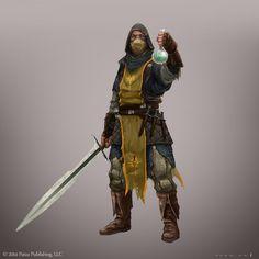 Slayer: grave warden by operion on @DeviantArt