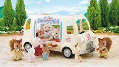 Sylvanian Families Ice cream Van » Vakantie vieren » Kidsspel.nl