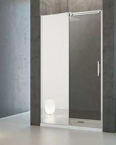 Espera DWJ Mirror Radaway drzwi wnękowe 990-1010x2000 lewe lustro/przejrzyste - 380110-71L