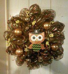 Owly wreath
