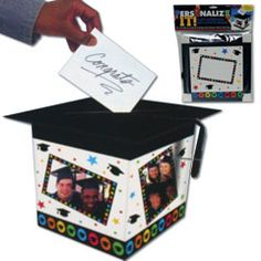 GRADUATION PHOTO  GIFT CARD BOX