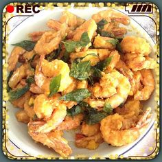 Singapore Home Cooks: Salted Egg Yolk Prawns, Crabs or Pork Chop by Amiko BelBel Chin
