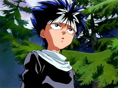 Yu Yu Hakusho Hiei, Japanese Animated Movies, Yoshihiro Togashi, Animes To Watch, Glitch Art, Ghost In The Shell, Neon Genesis Evangelion, All Anime, Tokyo Ghoul