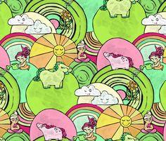 Cute Stuff fabric by babbles_interiors on Spoonflower - custom fabric