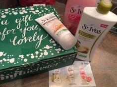 St Ives Influenster Holiday Box #LiveRadiantly with #StIvesSkin, #gotitfree @stives @influenster