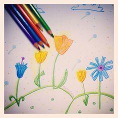 Un percorso di arte e immagine pensato per la scuola primaria. Art Lessons, Art Projects, Happy, Botany, Cl, Homeschooling, Studio, Color Art Lessons, Ser Feliz
