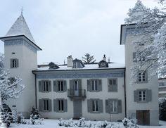 La facciata principale, una volta restaurata