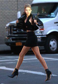 runwayandbeauty:  Gigi Hadid - Maybelline photo shoot set, NYC, April 26, 2015.  Vogue-i-s-my-religion.tumblr.com
