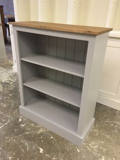 Painted shaker bookcase made to order. CAN BE ANY SIZE OR COLOUR!